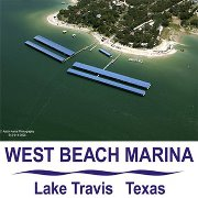 Lake Travis Map – Austin Texas - West Beach Marina